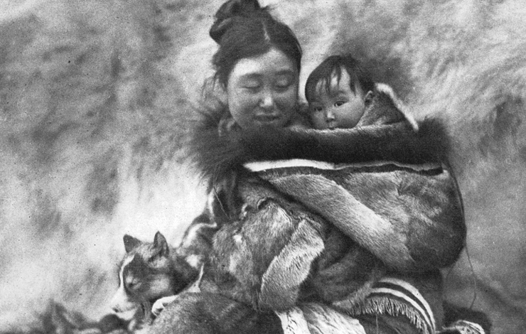 From Robert Flaherty's <em>Nanook of the North</em> (1922)
