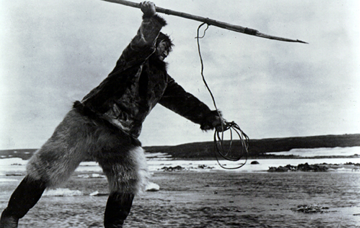 From Robert J. Flaherty's <em>Nanook of the North</em>