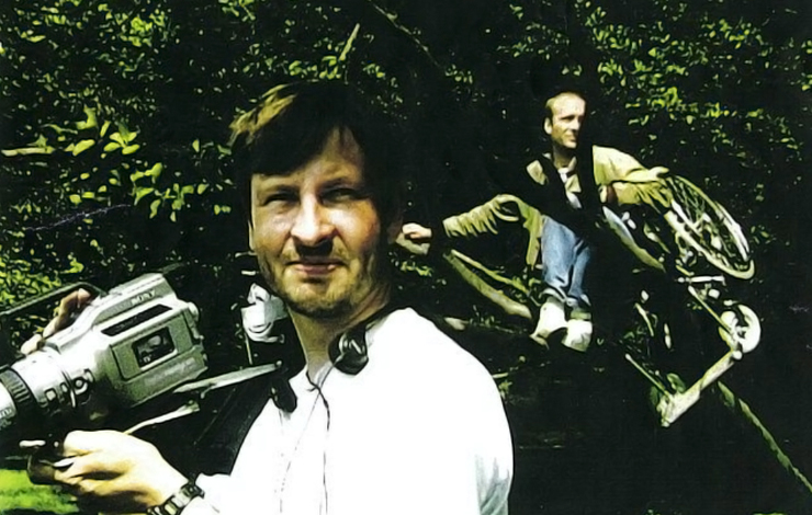 Lars Von Trier and Henrik Prip from <em>The Humiliated</em> by Jesper Jargil.