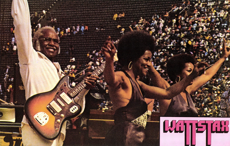 Pop Staples and the Staple Singers wow the crowd at Wattstax.
