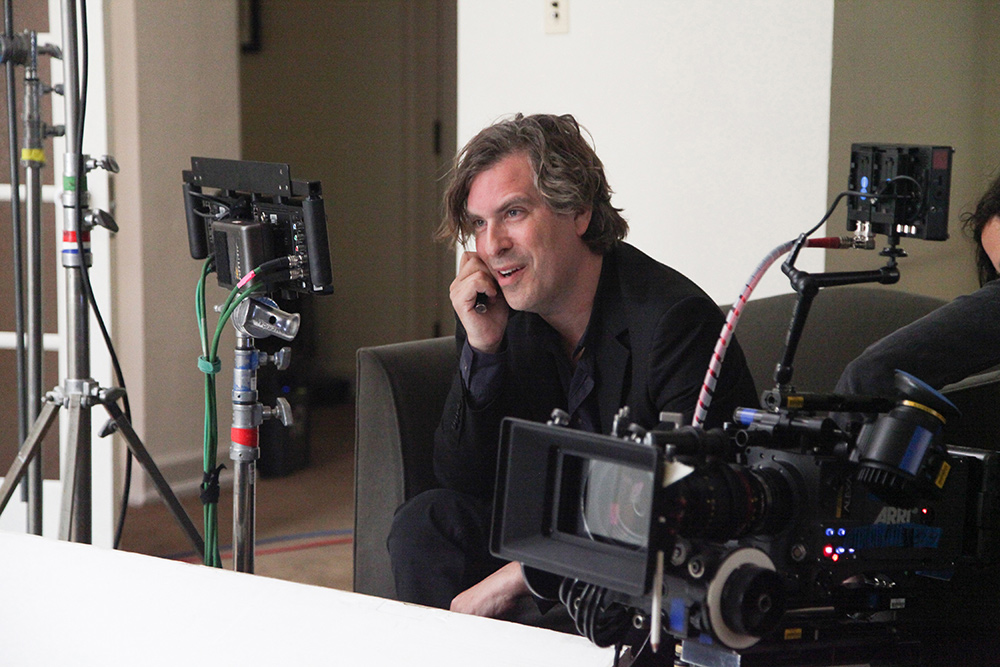 Filmmaker Brett Morgen during an interview for 'Montage of Heck.' Photo: The End of Music, LLC/courtesy of HBO
