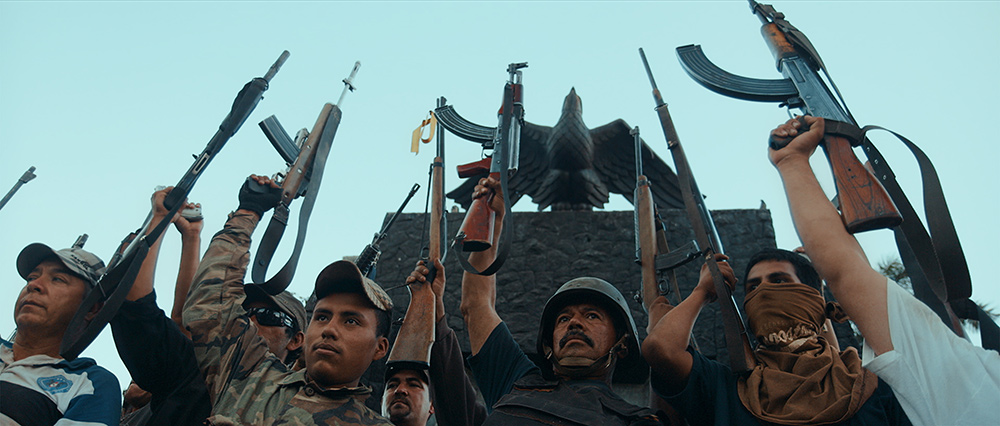 Autodefensa members in Michoacán, Mexico, from CARTEL LAND, a film by Matthew Heineman