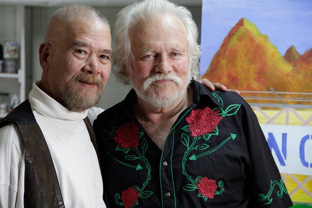 Richard Adams (L) and Tony Sullivan (R) at their home. 2011. Photo by Amy Adler