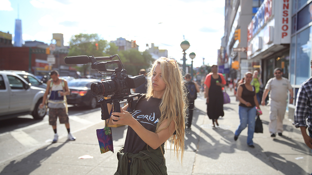 Crystal Moselle, director of 'The Wolfpack.' Photo: Megan Delaney. Courtesy of Magnolia Pictures