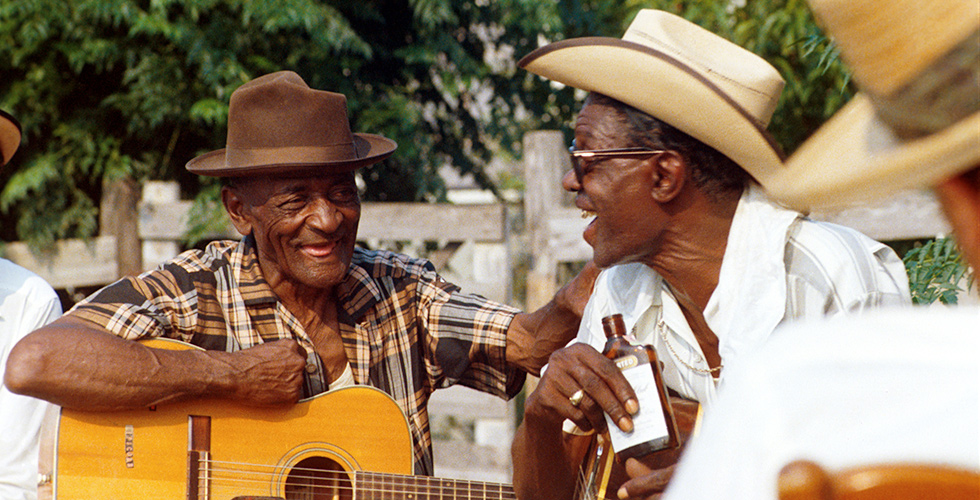 From Les Blank's The Blues Accordin' to Lightnin' Hopkins, included in The Criterion Collection