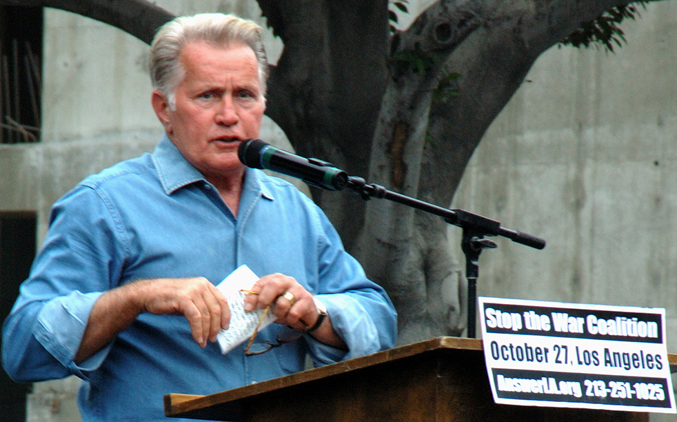Martin Sheen in Chuck Workman's Department of Education film, 'Happy Birthday, Mr. President.'