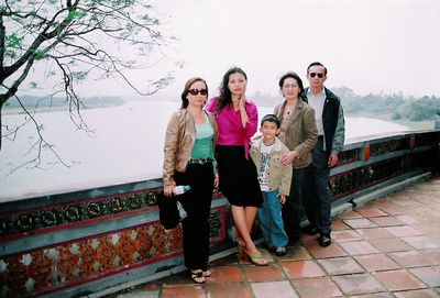 The Hoang family face their divided past on a return trip to Vietnam, their homeland from where they had escaped decades before. From Doan Huang's Oh, Saigon, which won the Grand Jury Prize for Best Documentary Feature at the Los Angeles Asian Pacific Film Festival. Courtesy of Doan Hoang.