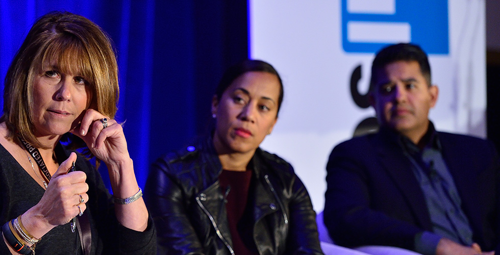 "From the ""Changing the World, One Episode at a Tiime"" panel. Photo: Rahoul Ghose. Courtesy of Realscreen Summit."
