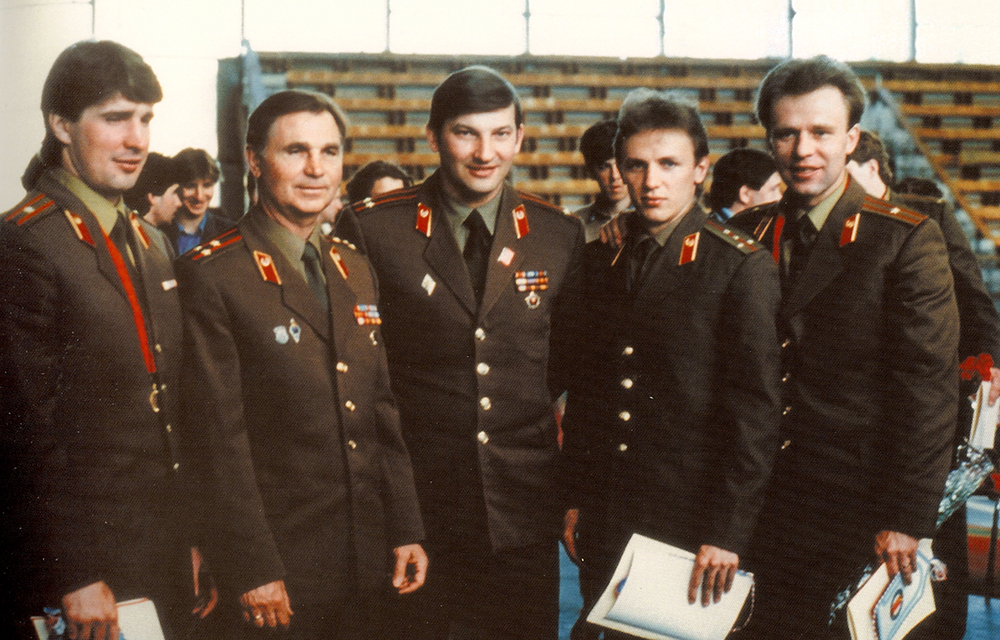 The Red Army Team. Courtesy of Slava Fetisov/Sony Pictures Classics