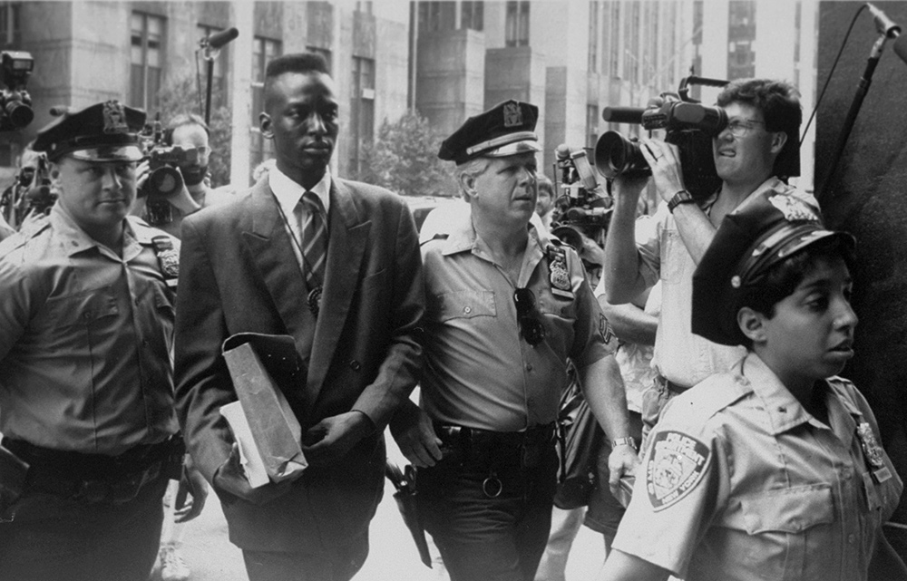 From the 2012 documentary 'The Central Park Five'. Courtesy of NY DAILY NEWS via Getty Images