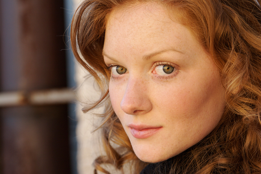 Wrenn Schmidt, who performs the role of Angelina, one of Eliot Spitzer's most visited call girls, in Alex Gibney's 'Client 9: The Rise and Fall of Eliot Spitzer.' Courtesy of Wrenn Schmidt