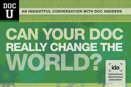 Doc U: Can Your Doc Really Change the World?