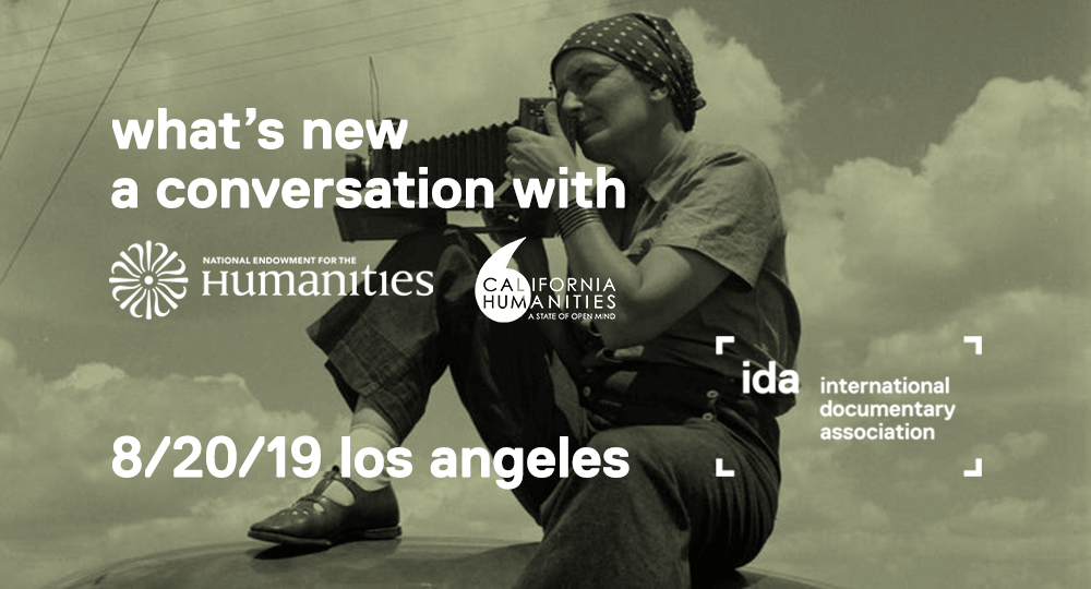 What's New: NEH and California Humanities