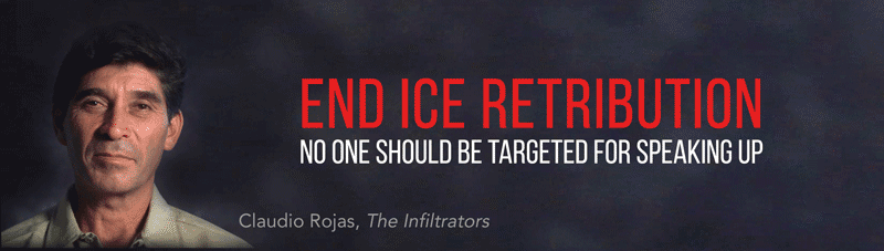 END ICE RETRIBUTION: No one should be targeted for speaking up.