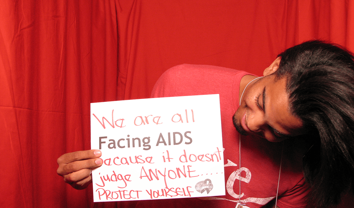 From the AIDS.gov photo booth at the U.S. Conference on AIDS, September 2010 (Orlando, FL). Photo Courtesy: US Department of Health and Human Services.