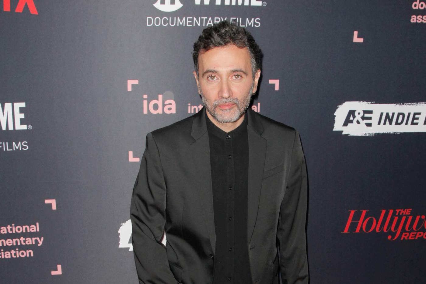 Filmmaker Talal Derki at the 2018 IDA Documentary Awards. Photo by Tibrina Hobson.