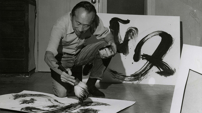 Artist Tyrus Wong, subject of Pamela Tom's 'Tyrus.'