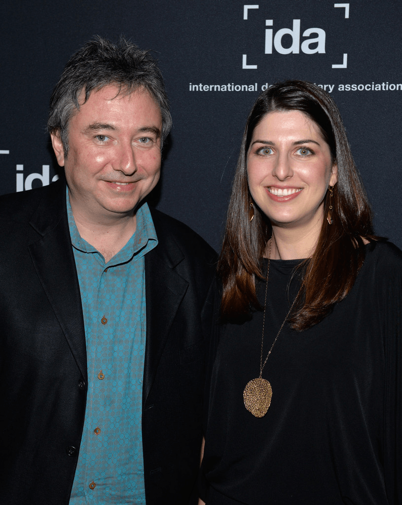 Bill Siegel and producer Rachel Pikelny, at the 2013 IDA Documentary Awards, when 'The Trials of Muhammed Ali' won the ABCNews VideoSource Award. Courtesy of Kartemquin Films.