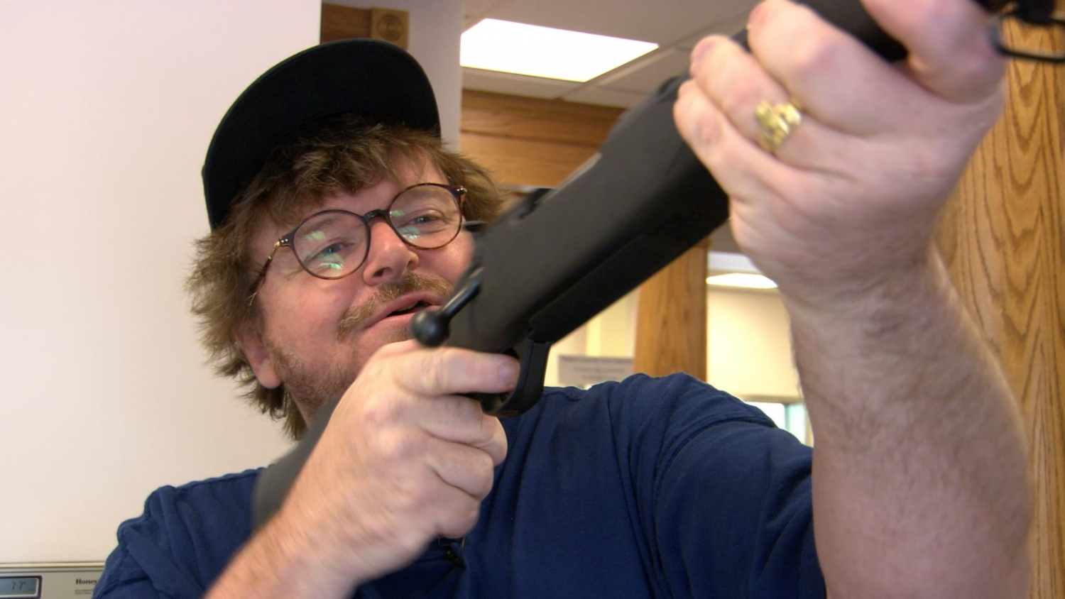 From Michael Moore's 'Bowling for Columbine.' Courtesy of The Criterion Collection