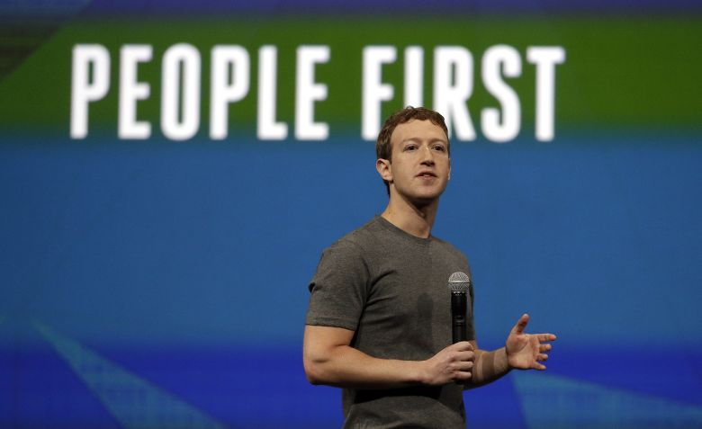 Mark Zuckerberg of Facebook. Ben Margot/AP/REX/Shutterstock.
