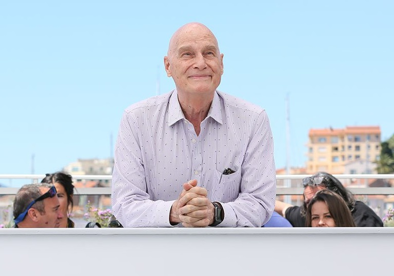 Director Barbet Schroeder. Photo: M Petit / Festival de Cannes.