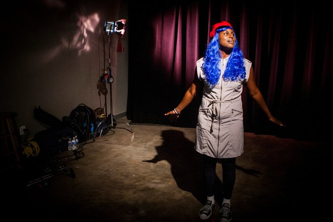 Comedian Issa Rae. Bret Hartman for The Washington Post, via Getty Images.