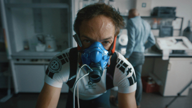 Bryan Fogel in his film 'Icarus.' Courtesy of Netflix.
