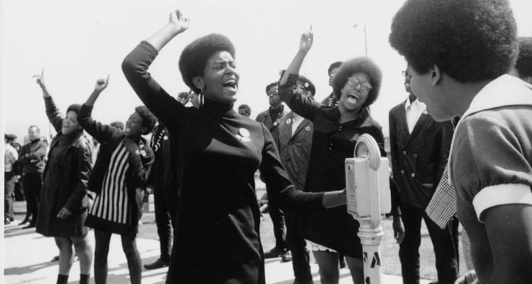 From Agnes Varda's 'Black Panthers.'