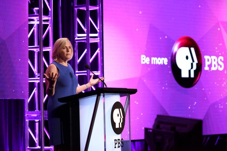 Paula Kerger of PBS. Latour/Variety/REX/Shutterstock.