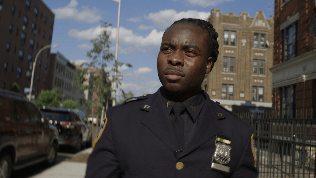 "Sgt. Edwin Raymond, featured in Stephen Maing's ""Crime + Punishment."" Photo courtesy of Stephen Maing"
