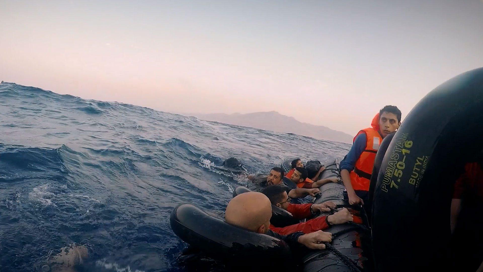 From Keo Films' 'Exodus: Our Journey to Europe.' (Dir.: James Bluemel; Series Prod.: Jane Merkin)