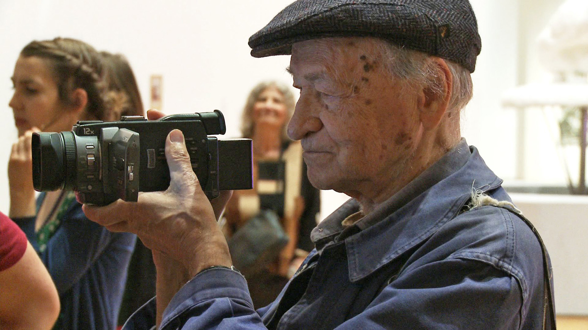 Jonas Mekas: 365 Day Project. Courtesy of ZKM | Medienmuseum