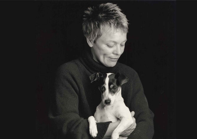 From Laurie Anderson's<em>Heart of a Dog</em>. Photo: Sophie Calle