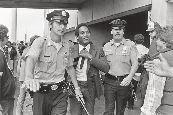 From Ezra Edelman's <em>OJ: Made in America</em>. Photo: M. Osterreicher/Courtesy of ESPN Films.