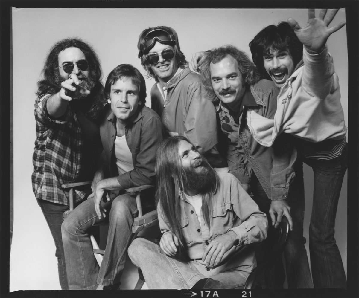 The Grateful Dead, from Amir Bar-Lev's 'Long Strange Trip.' Photo: Herb Greene. Courtesy of Amazon Studios