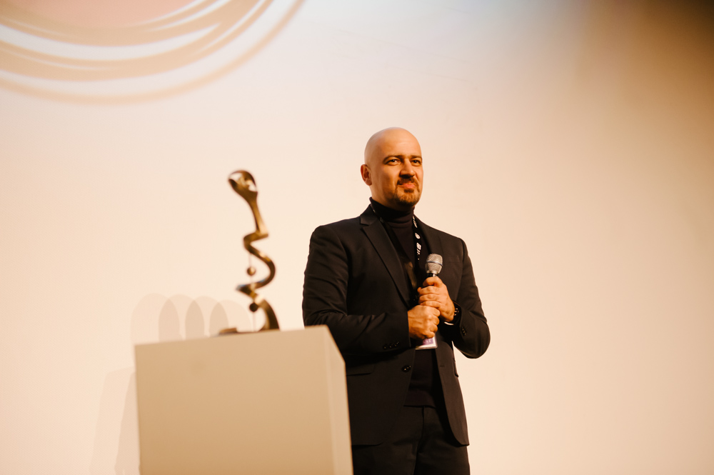 Filmmaker Mehrdad Oskouei, recipient of this year's True Vision Award. Photo: Rebecca Allen