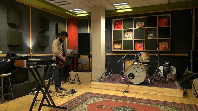 Kutiman in his studio. Courtesy of Magnolia Pictures.