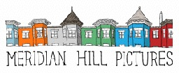 Meridian Hill Pictures logo with drawings of colorful Washington DC homes.