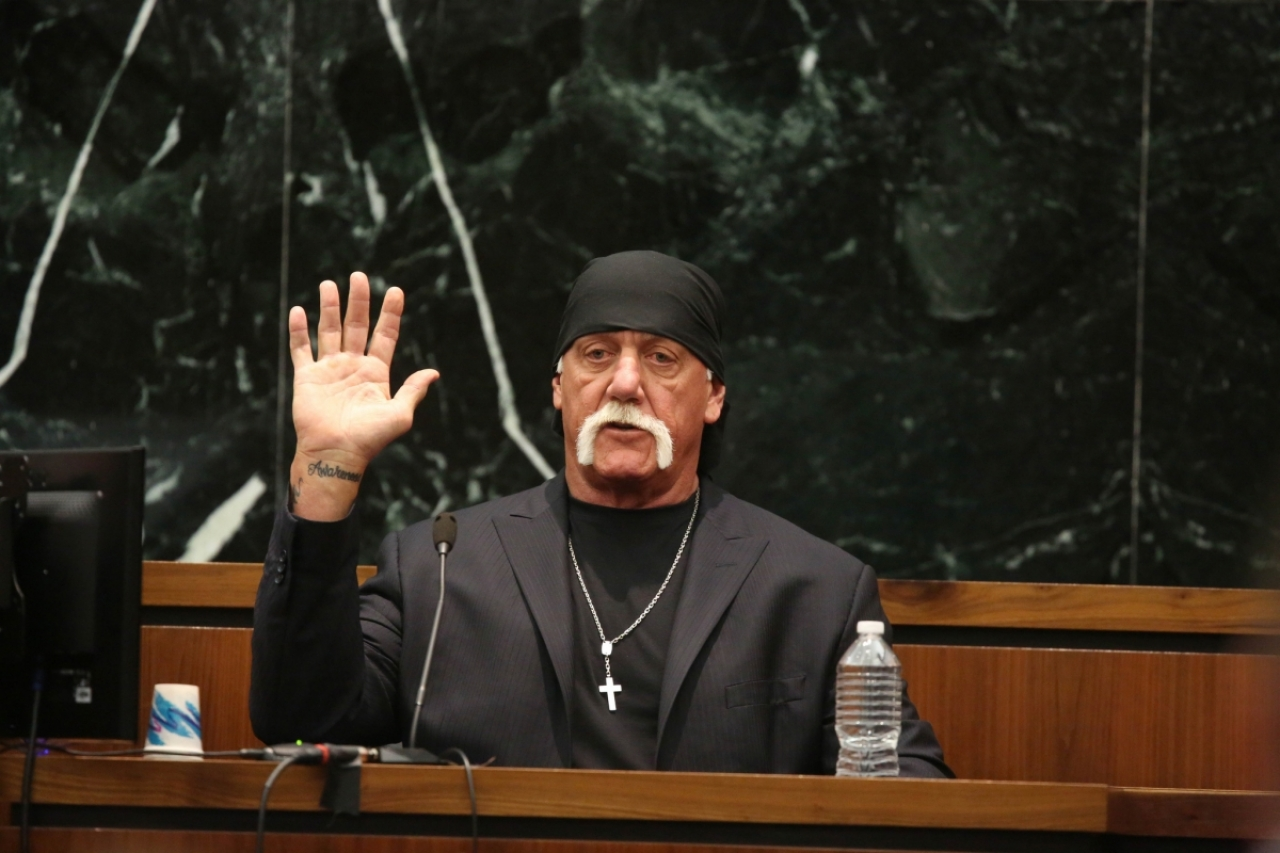 Terry 'Hulk Hogan' Bollea, from Brian Knappenberger's 'Nobody Speak: Hulk Hogan, Gawker and Trials of a Free Press.' Courtesy of the Sundance Film Festival.