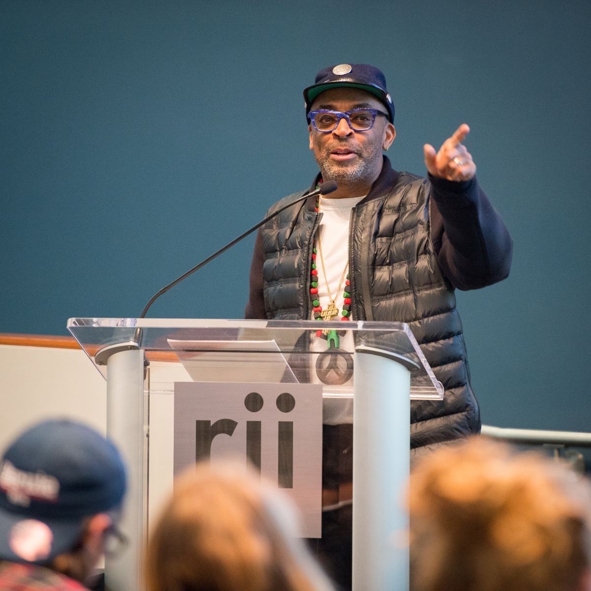 Filmmaker Spike Lee. University of Missouri School of Journalism.