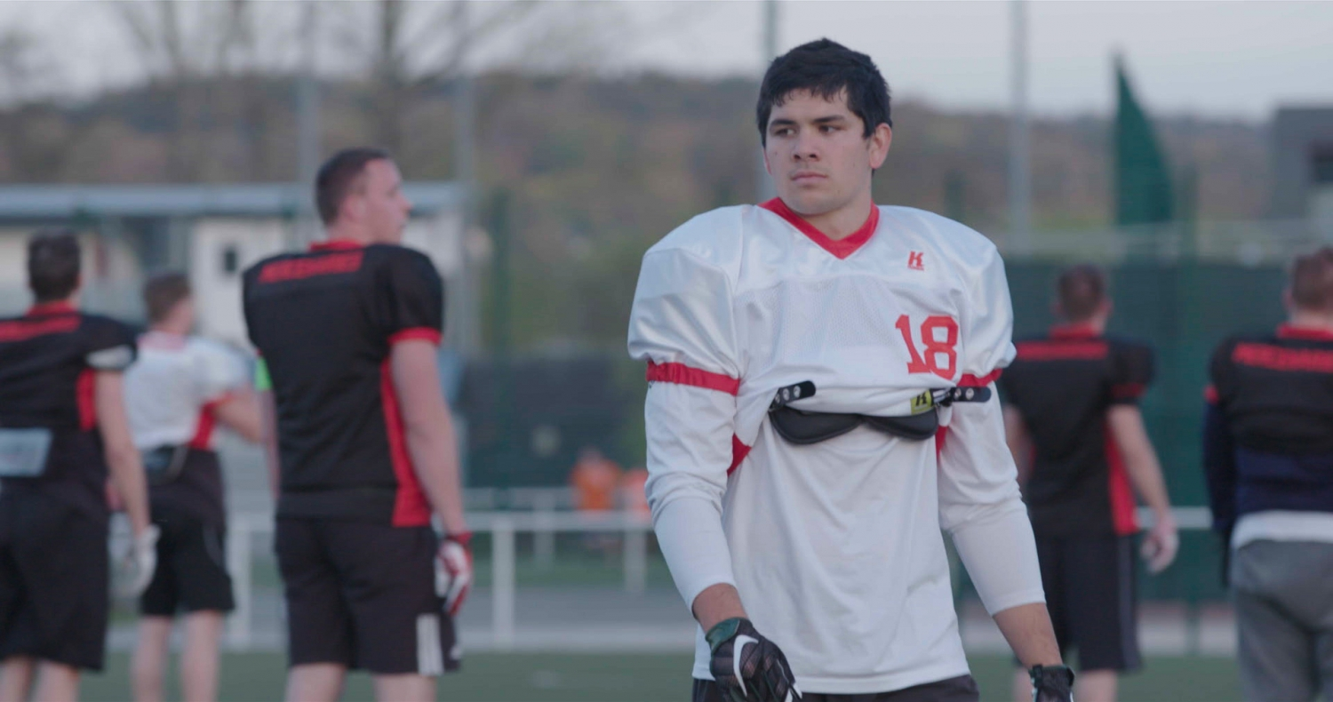 "From ""Student Athlete,"" premiering Oct. 2 on HBO. Photo: Silas Nacita. Courtesy of HBO"