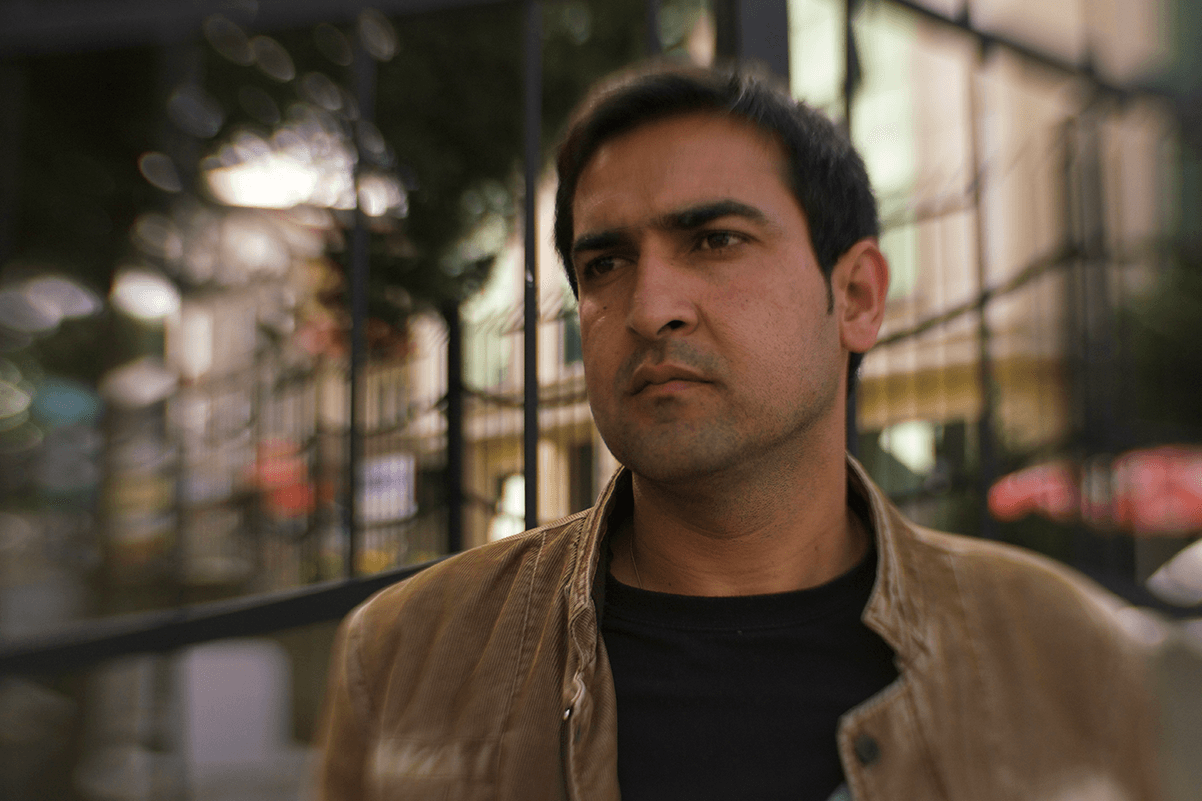 "Mujtaba, one of the protagonists from Andrés Caballero and Sofian Khan's ""The Interpreters."" Photo: Sofian Khan."