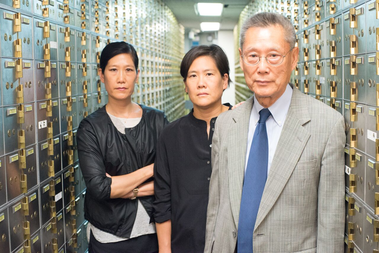 Left to right: Vera Sung, Jill Sung and Thomas Sung, from Steve James'  'Abacus: Small Enough to Jail,' a PBS Distribution release. Photo: Sean Lyness