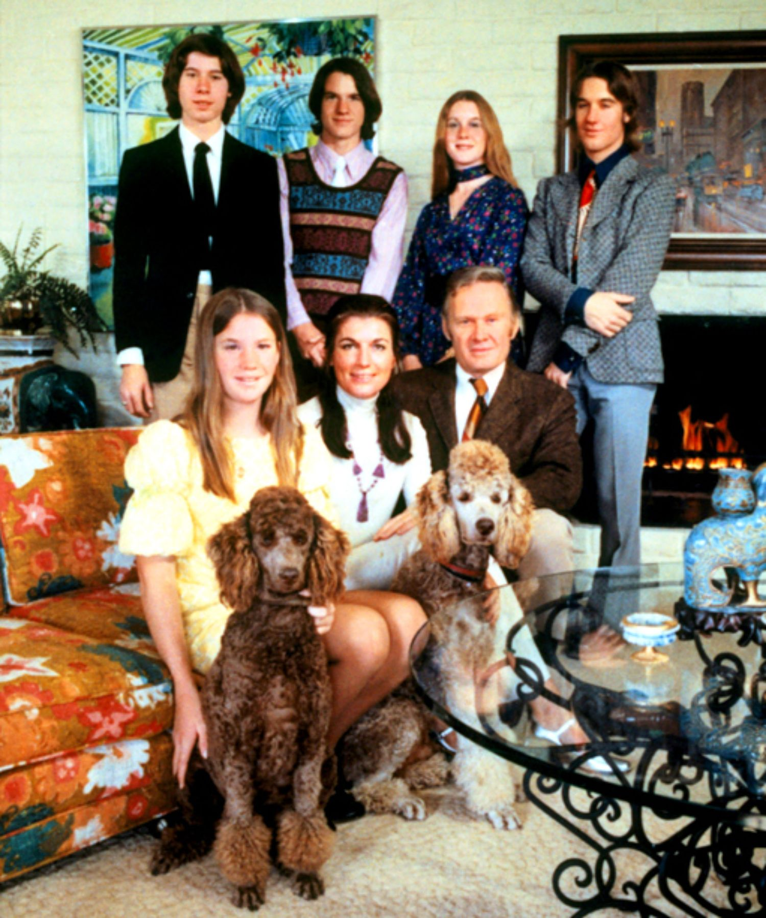 "The Loud family, stars of the 1973 series ""An American Family."" Courtesy of PBS"