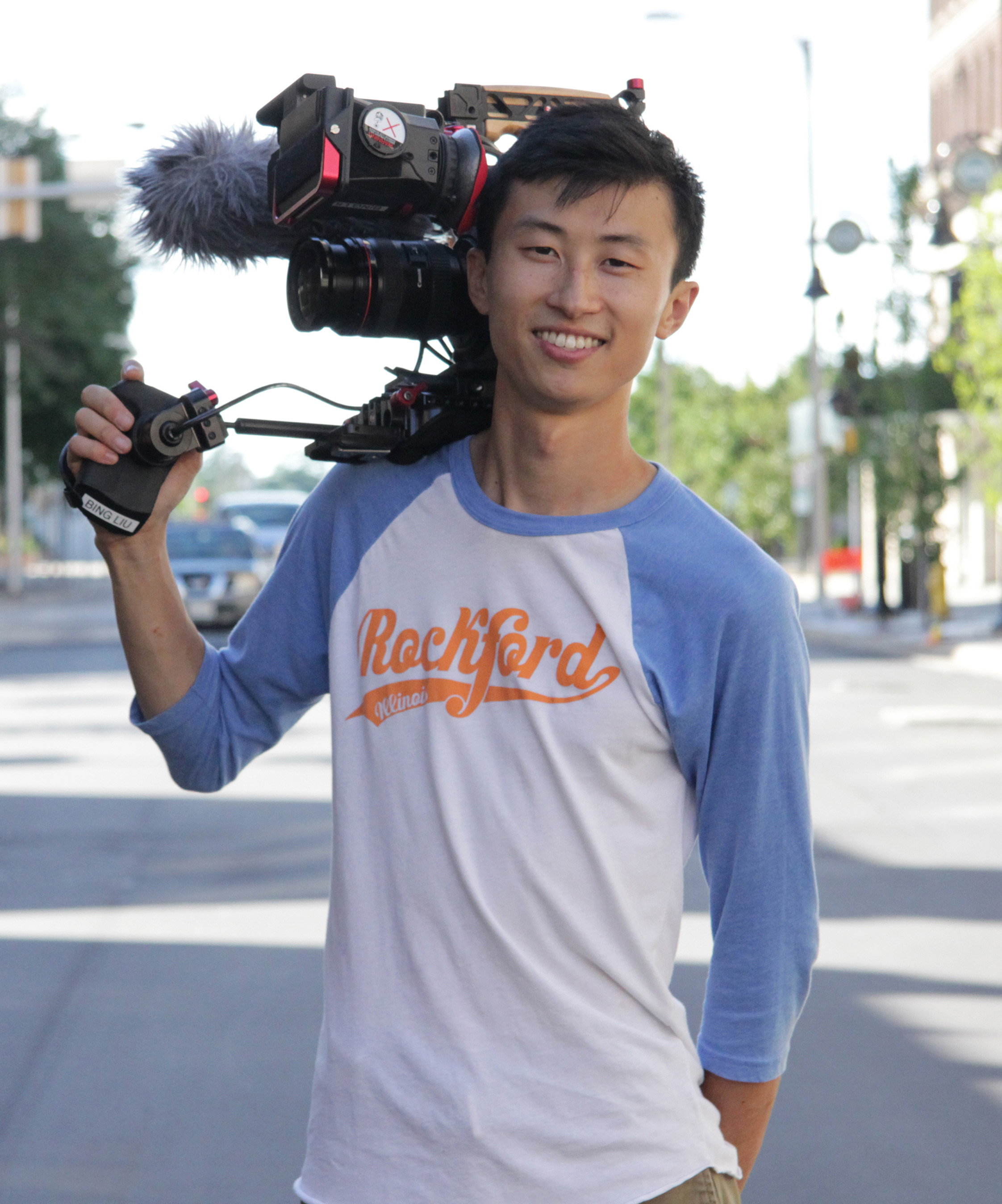 Filmmaker Bing Liu. Courtesy of Sundance Institute