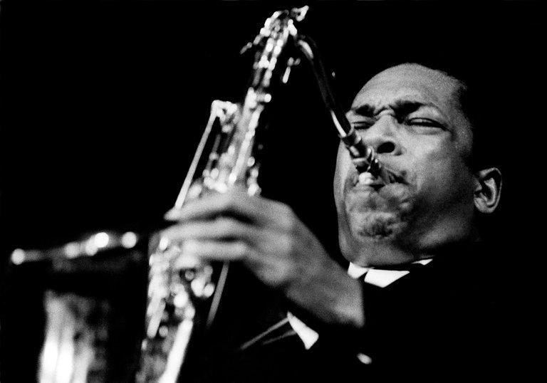 John Coltrane, as seen in 'Chasing Trane.' Credit Jan Persson/PBS.