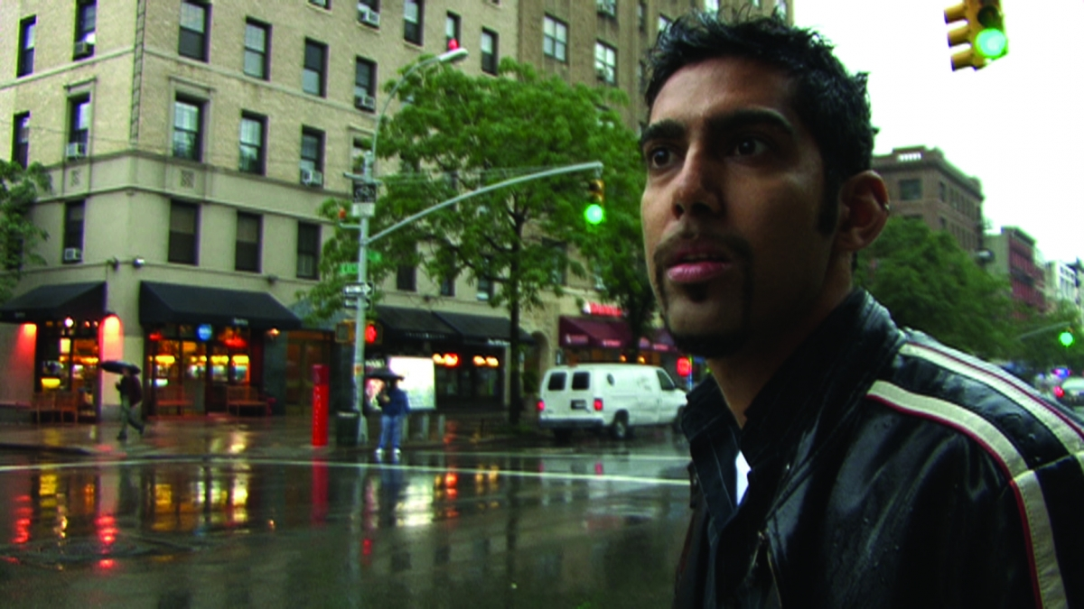 Jason DaSilva in the East Village, NYC. From 'When I Walk,' a Long Shot Factory release.
