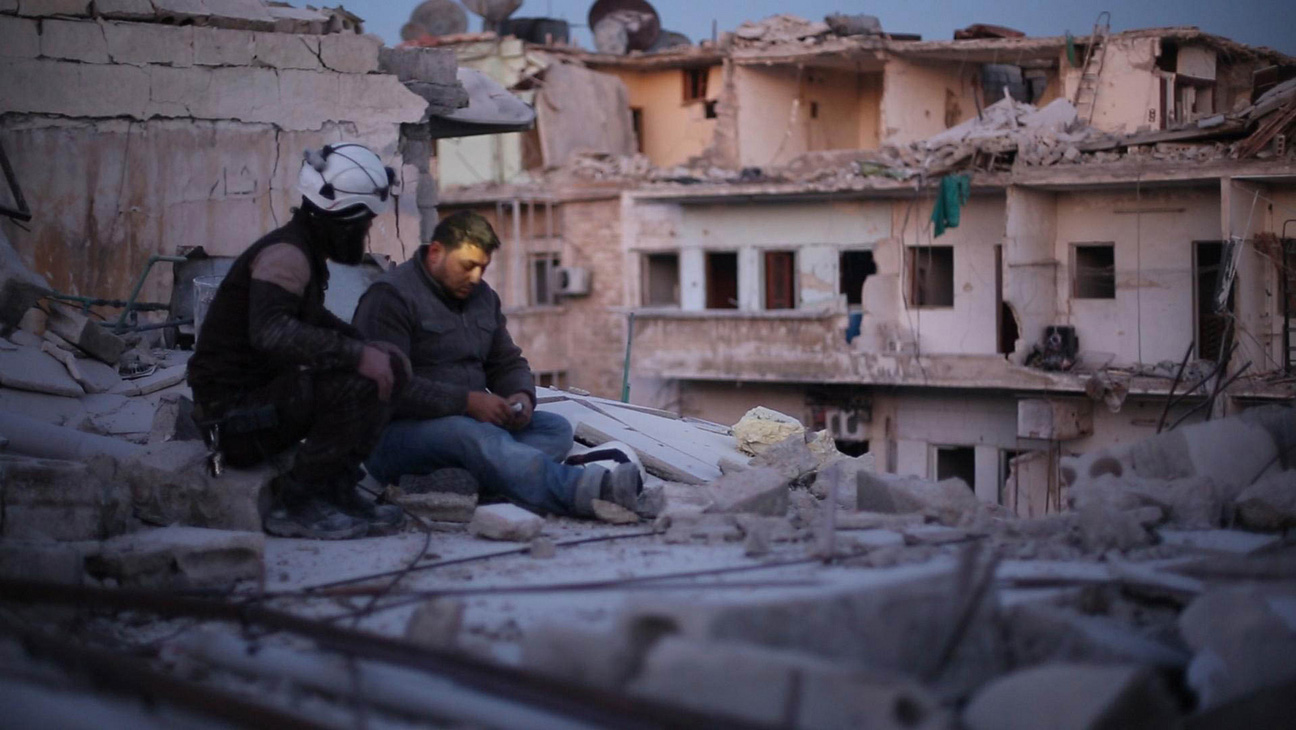 From Firas Fayyad's <em>Last Men in Aleppo</em>. Courtesy of Sundance Institute