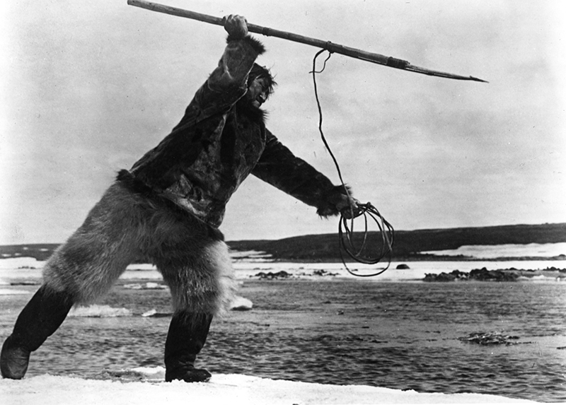 From Robert Flaherty's <em>Nanook of the North</em>. Courtesy of The Flahert Semianrs.