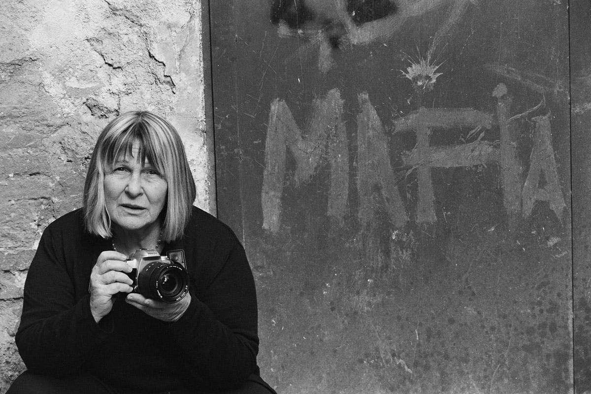 'Shooting the Mafia' subject Letizia Battaglia. Photo credit: Shobha. Courtesy of Lunar Pictures.